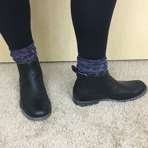 Frye  Philip Chelsea Black Leather Boots 11 Wide